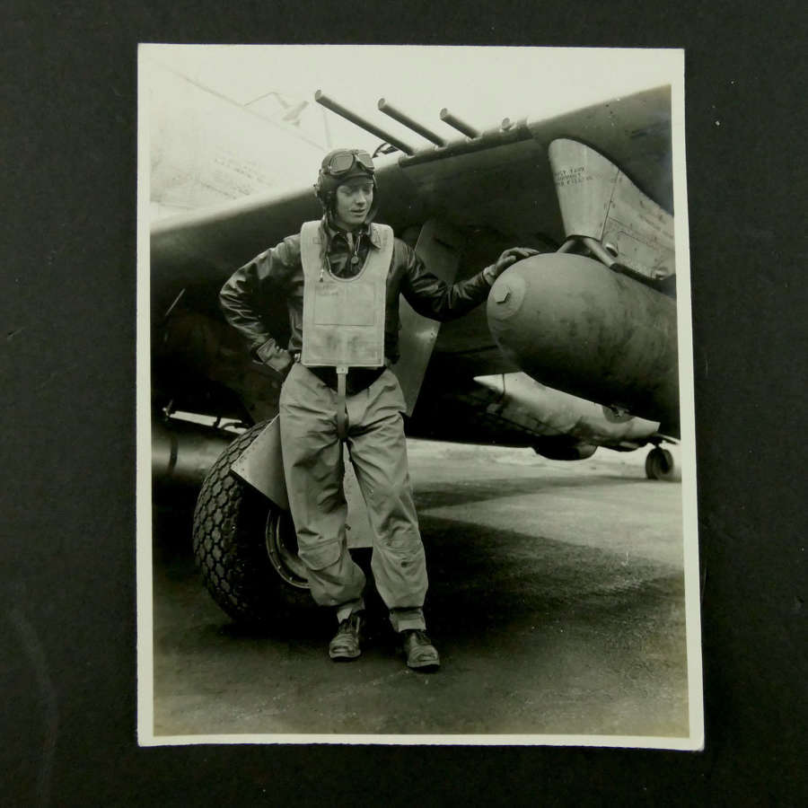 USAAF 9th AAF, 366th Fighter Group photograph