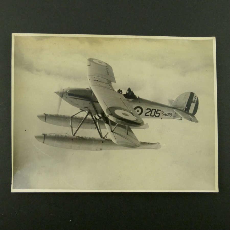 Photo,  Hawker Osprey