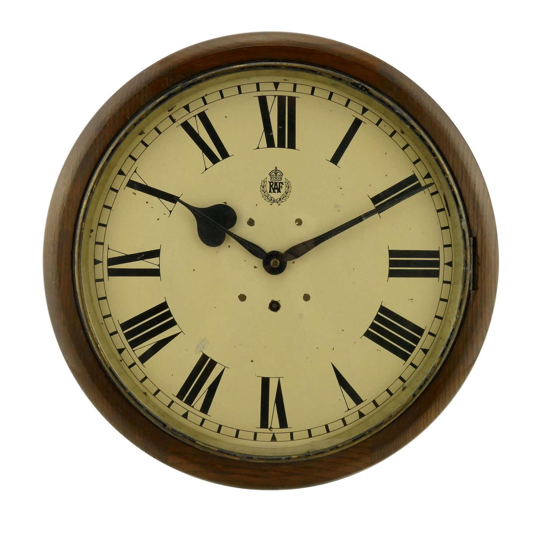 RAF station wall clock
