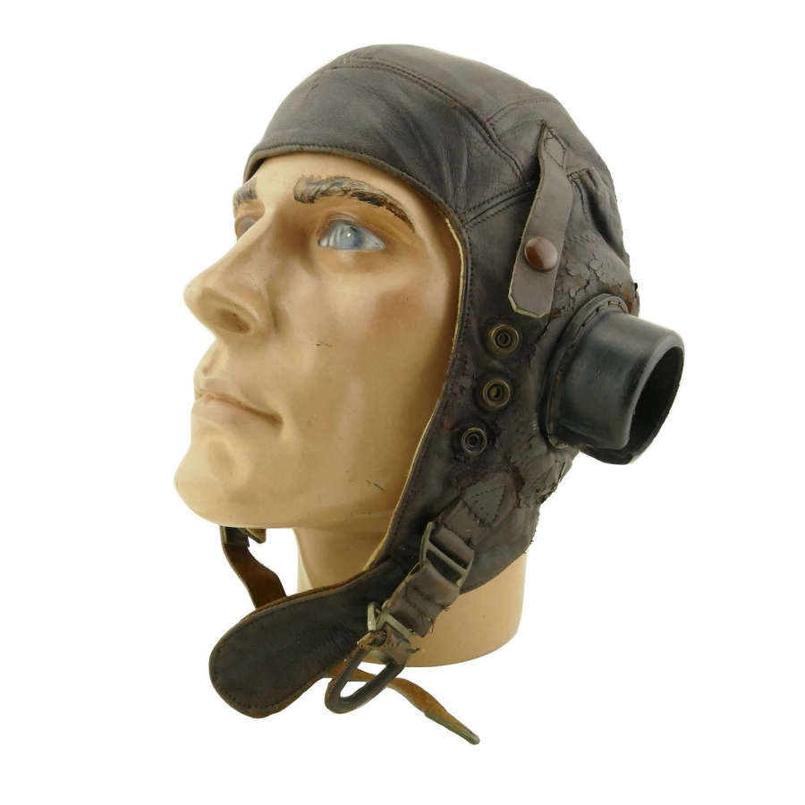 RAF C-type flying helmet, early pattern - history