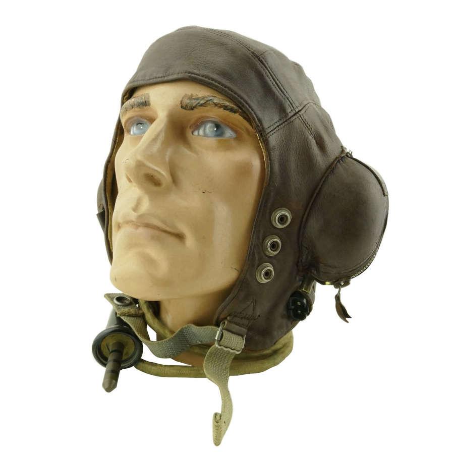 RN / FAA C-type flying helmet, late pattern
