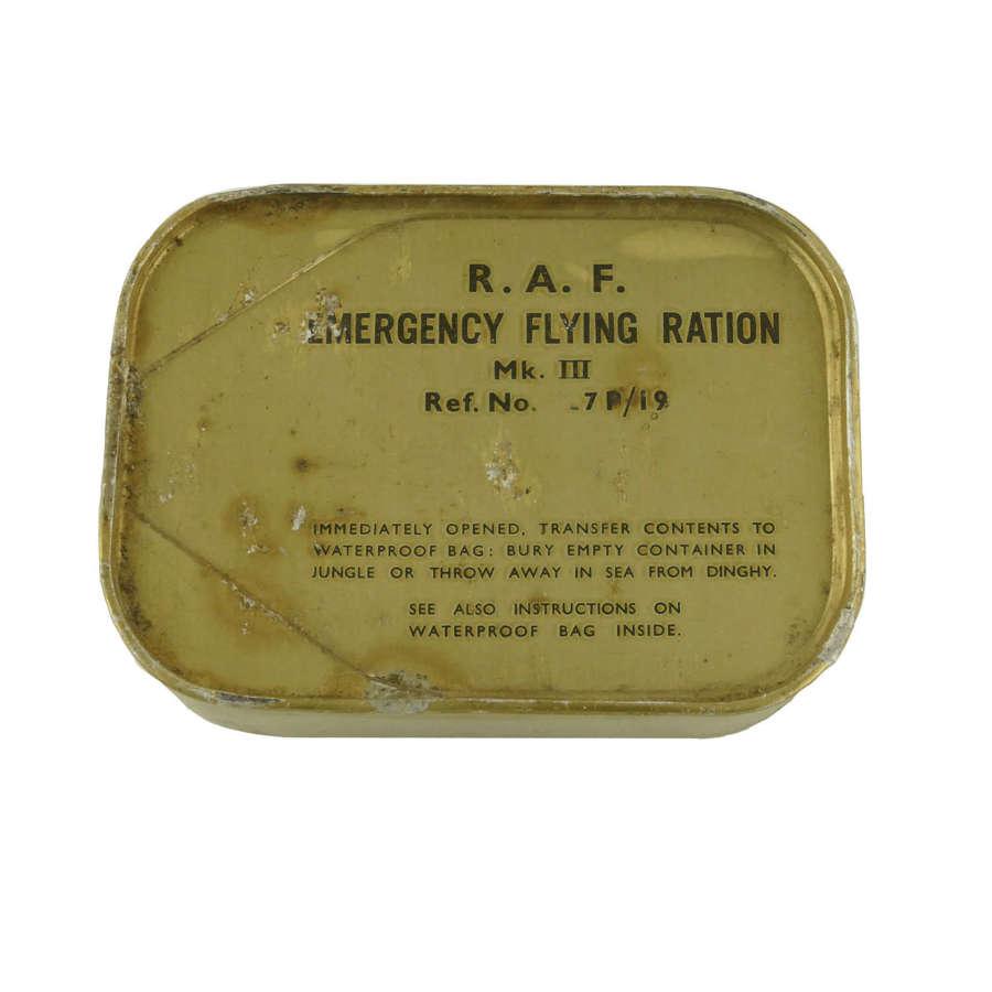 RAF Emergency Flying Ration Mk.III