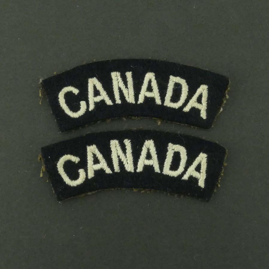 RAF 'Canada' Nationality titles