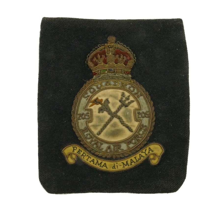 RAF 205 Squadron patch
