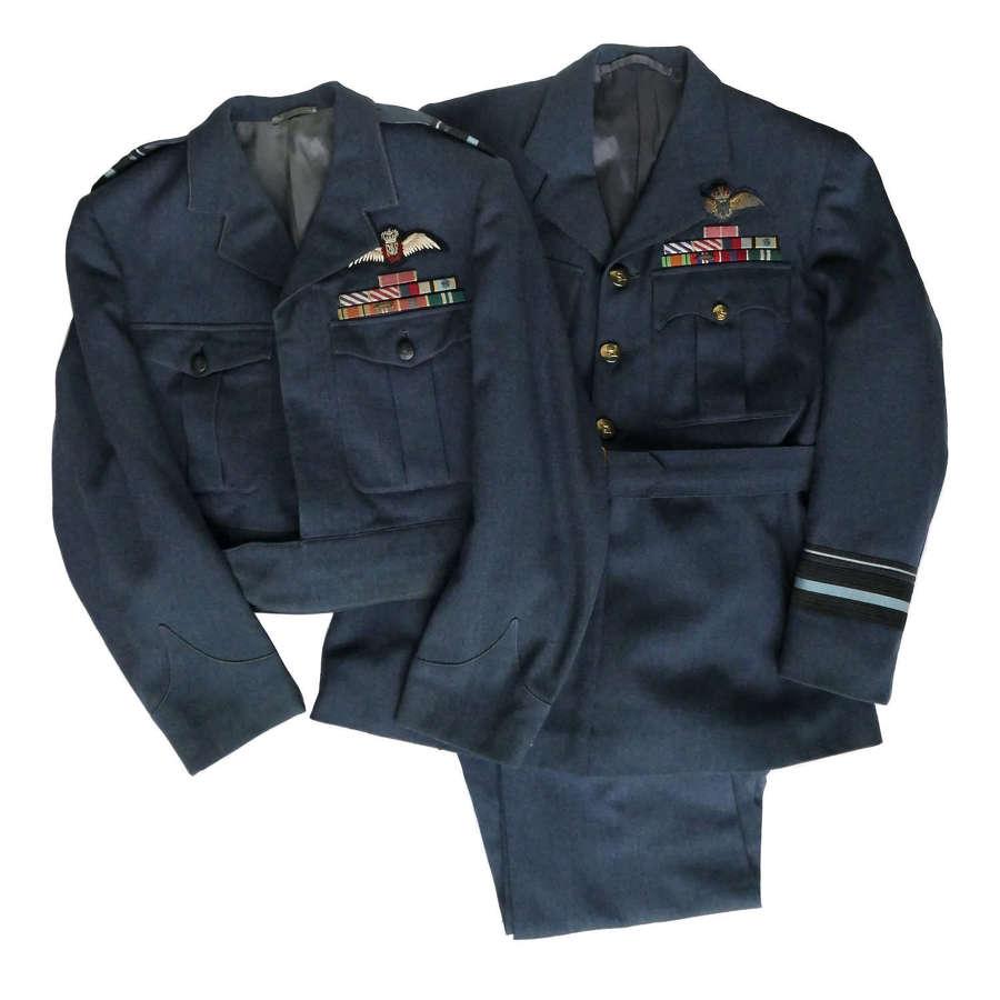 RAF uniforms - Air Marshall Sir C.H. Hartley, KCB, CBE, DFC, AFC, AE