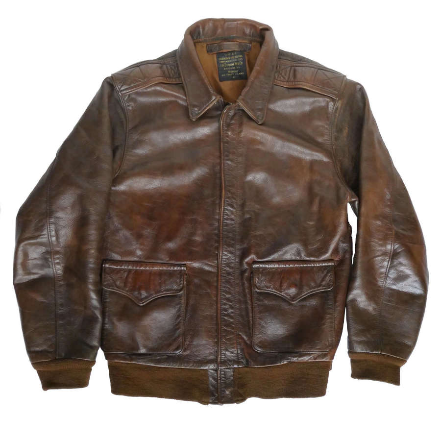 USAAF A-2 flying jacket - Diamond Clothing reproduction