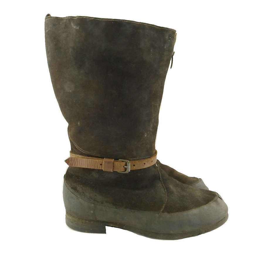 RAF 1941 pattern flying boots, S10 - History