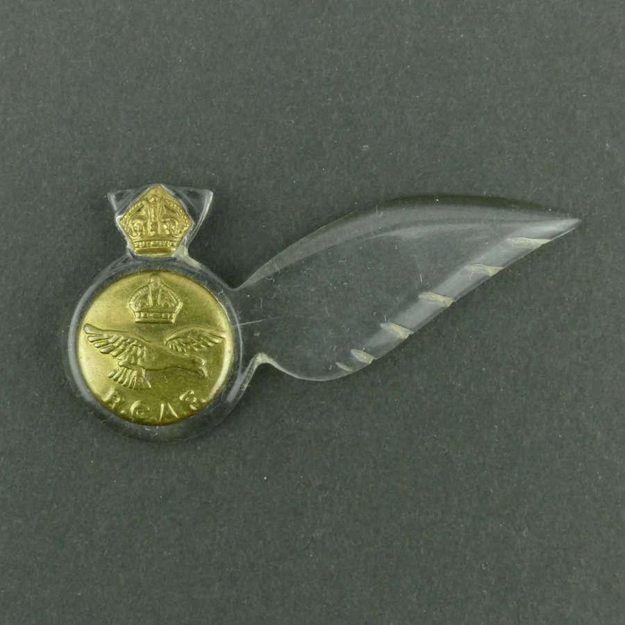 RCAF sweetheart brevet