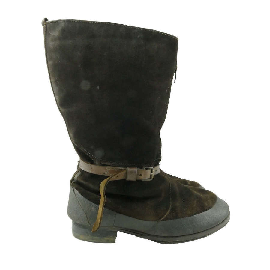 RAF 1941 pattern flying boots, S8