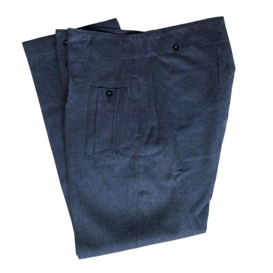 RAF Trousers, War Service Dress, largest size