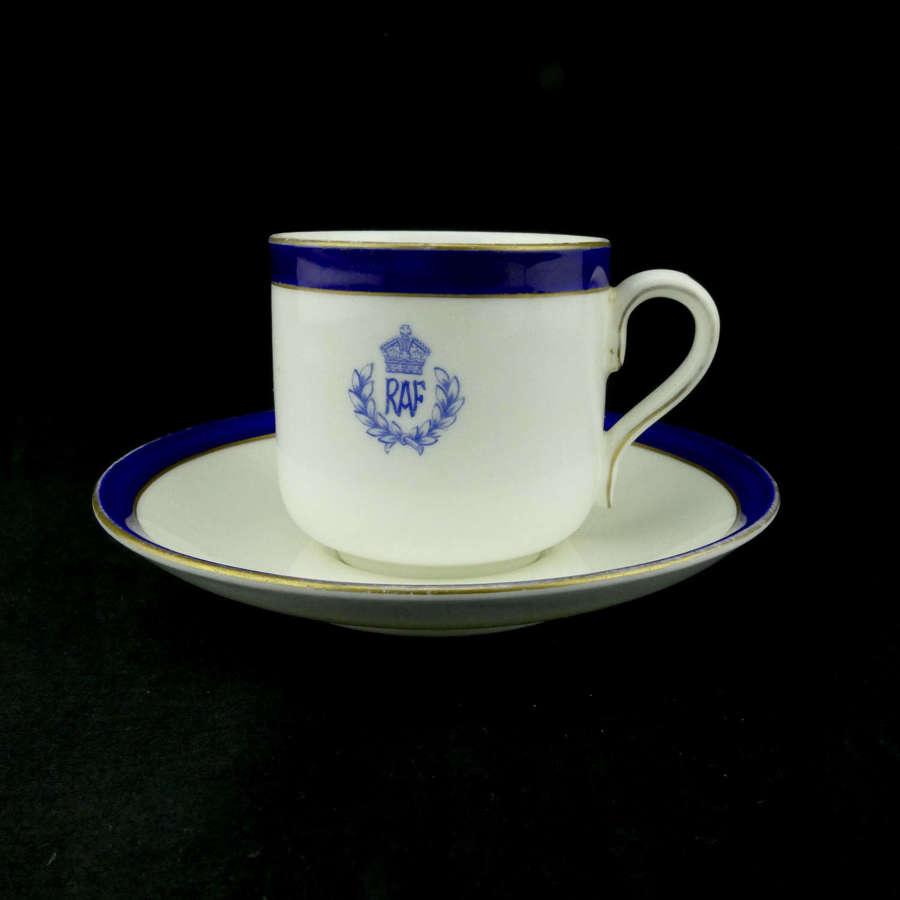 RAF coffee cup & saucer