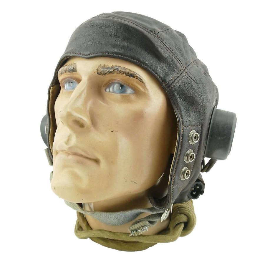 RAF C-type flying helmet, late pattern
