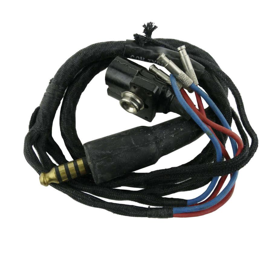 RAF G-type helmet wiring looms