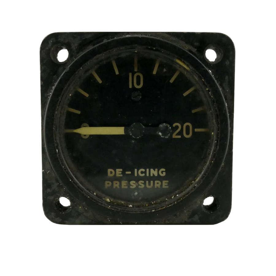 USAAF B-17 De-Icing Pressure Gauge