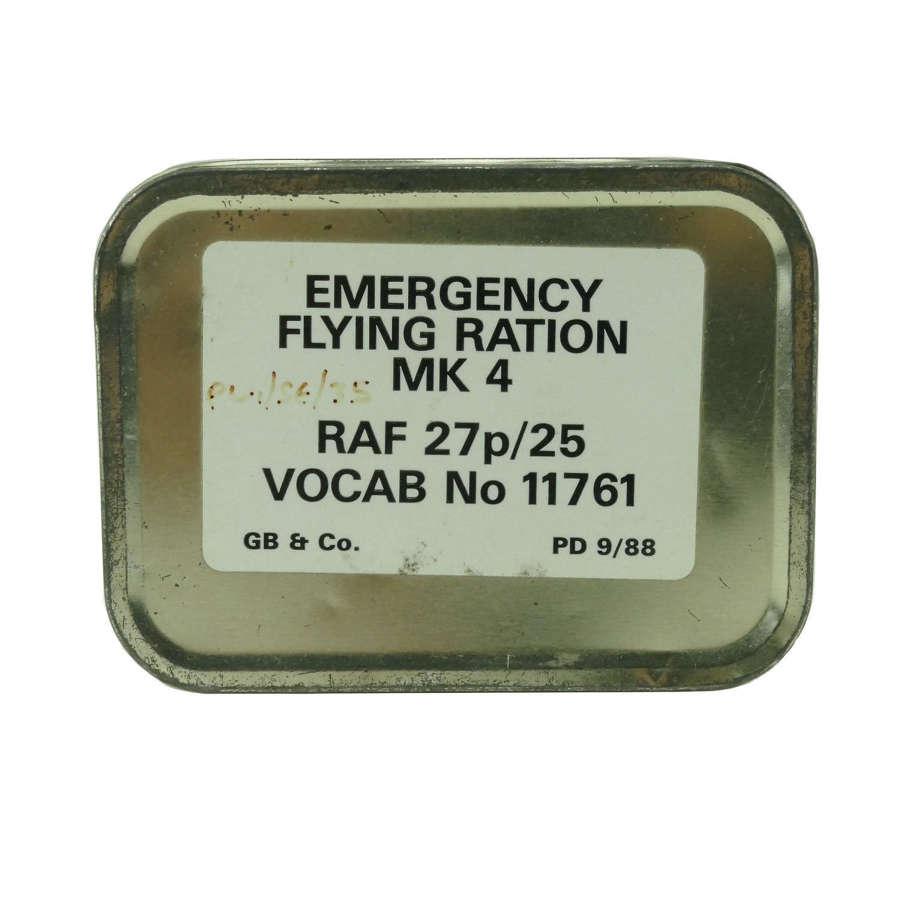 RAF Emergency Flying Ration Mk.4